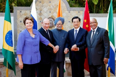 Heads of BRICS states in New Delhi, India for for 4th BRICS Summit March 2012. Photo by Roberto Stuckert Filho/PR. Used with permission.