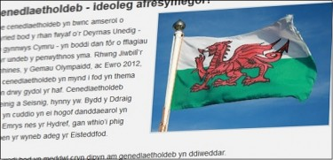 A Welsh language blog