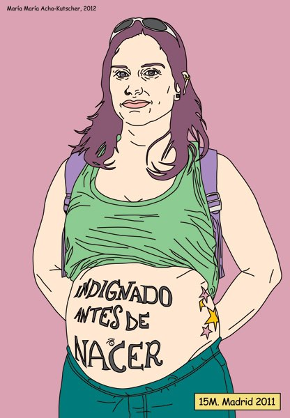 Outraged before being born, by María María Acha-Kutscher (CC BY-NC-ND 3.0)