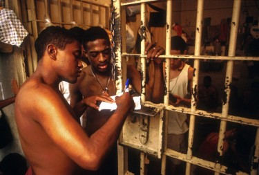 Overcrowded prison system in Brazil. Photo by Giuseppe Bizzarri copyright Demotix (09/03/2003)