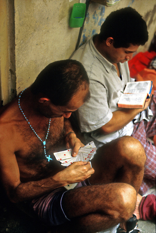Overcrowded prison in Brazil. Photo by Giuseppe Bizzarri, copyright Demotix (09/03/2003).