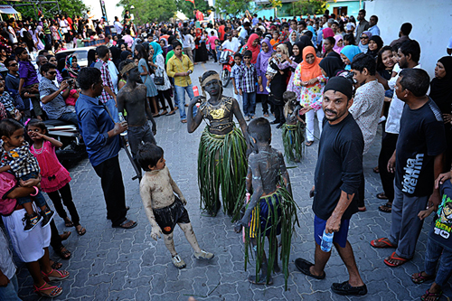 Eid celebrations in Male, Maldives. Image by MUHA. Used with permission.
