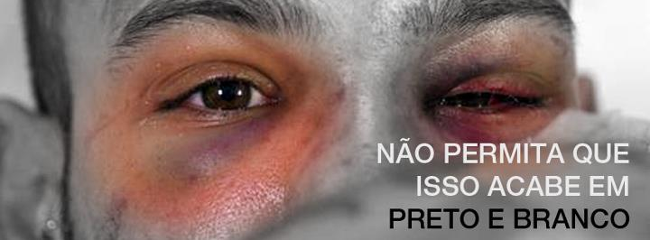 """Don't allow this to end on black and white"". Banner from Nós Queremos Justiça (We Want Justice) on Facebook"
