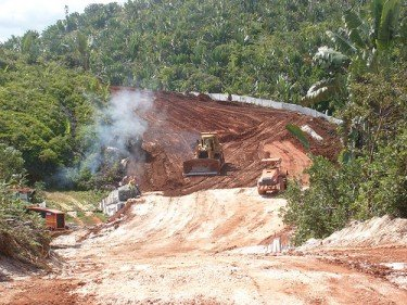 Land construction in Madagascar. Photo by Foko Madagascar, used with the author's authorization