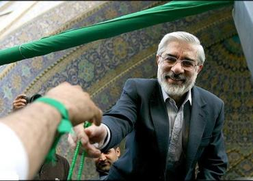 Mir Hossien Mousavi, 2009. Source:Sabzintan blog. Used with permission.
