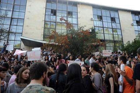 Gldani Prison Abuse Protest, Tbilisi, Georgia © Onnik Krikorian