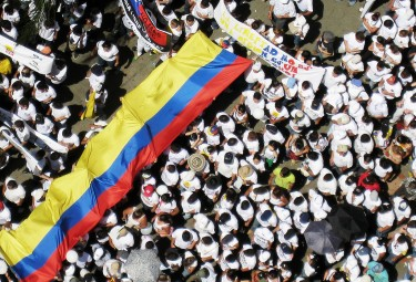 Demonstration against FARC (2008)