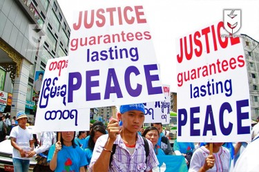 Peace Demonstration Myanmar