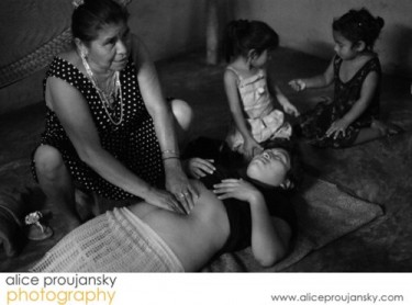 Alice Proujansky Image from her Birth series Intercultural Midwifery