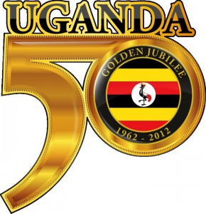 Uganda at 50 logo. Image source: Uganda at 50 Facebook page.