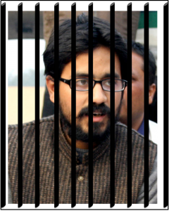 """Political cartoonist Aseem Trivedi arrested in India for """"insulting"""" National symbols. Original image from Wikipedia, used and adapted by the author under CC BY-SA 3.0"""
