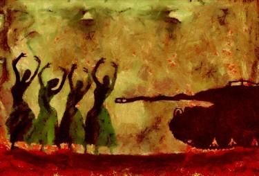 تباہی کے میان رقص