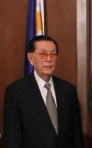 Philippine Senate President Juan Ponce Enrile.