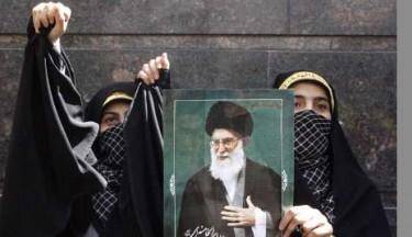 Demonstration by Swiss embassy in Tehran