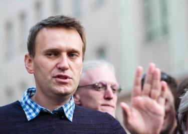 Aleksei Navalny a Mosca