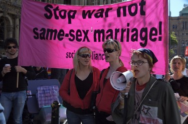 National Day of Action for Same Sex Marriage - Sydney