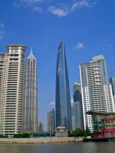 Shanghai Putong's skyline in 2009. Photo by Remko Tanis (CC: BY-NC-SA)