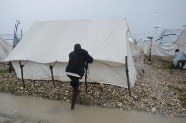 Hurricane Sandy in Port-au-Prince, Haiti