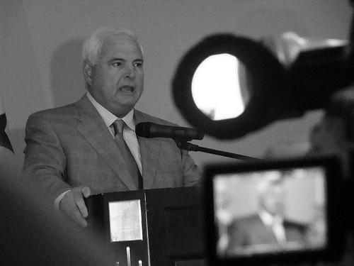 President Martinelli of Panama