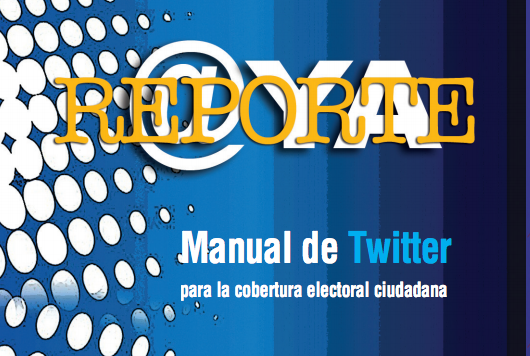 Twitter handbook for citizen electoral reporting