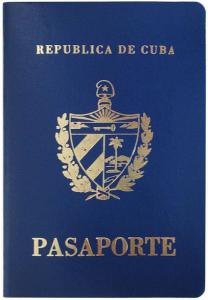 Cuban Passport. Wikimedia Image - public domain.