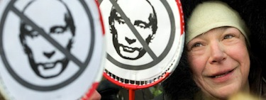 Anti-Putin protest, Russia. Flickr/Freedom House (CC BY 2.0).