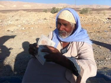 apátridas en Egipto