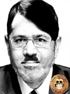 On Facebook, Ayman Monged shares this photograph of Egyptian president Mohamed Morsi