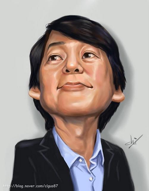 Ahn Caricature