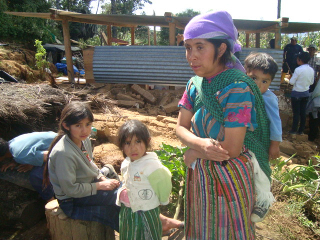 Family from Huitancito, Huitán