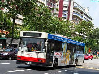 Un autobus della SMRT