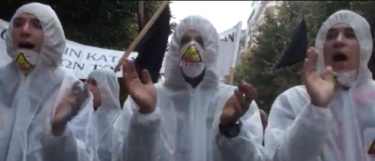 Thessaloniki protest