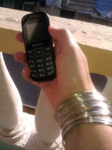 telefono cellulare, foto concessa da Gayatri Agnew