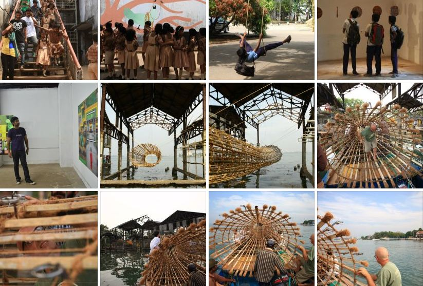 A screenshot from the album http://www.facebook.com/KochiMuzirisBiennale