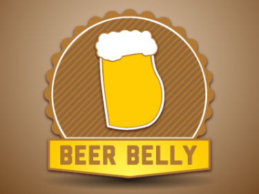 Logo of the Beer Belly Blog (Пивски стомак)