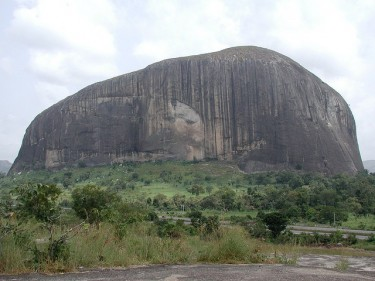 Zuma Rock near Abuja by Jeff Attaway on FlickR license (CC-BY-2.0).