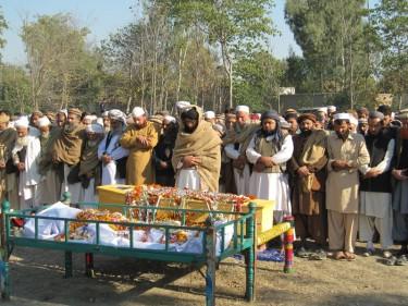 Funerali dell'operatore antipolio Hilal Khan, Peshawar
