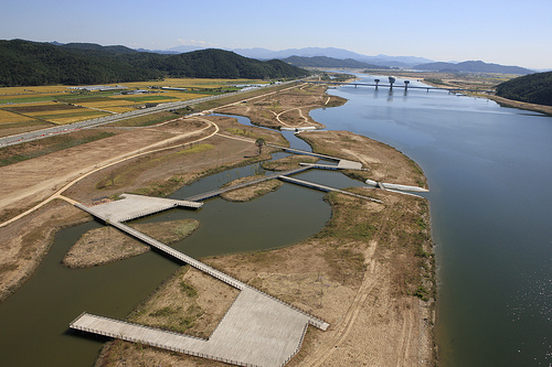 Image of Four River Project Construction Site