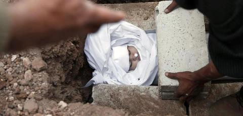 Ci sono angeli che vivono nelle tombe siriane