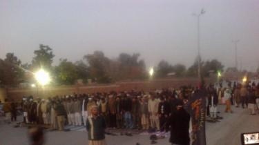 Peshawar Sit-in.