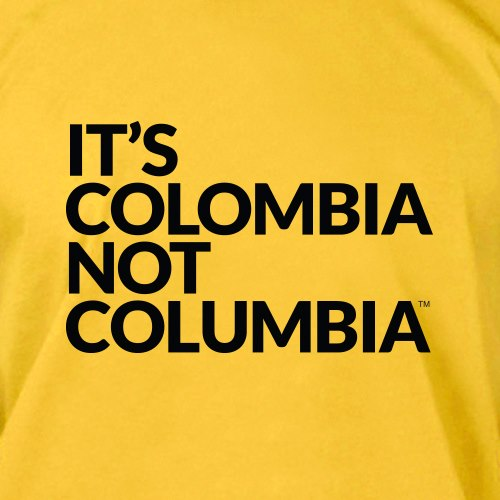 "A social media campaign is trying to fix a common spelling error: ""It's Colombia, not Columbia"""