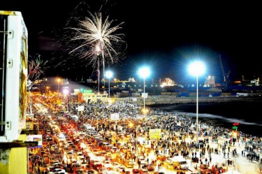Ben Ghazi celebrates the second anniversary of the Libyan revolution. Photo credit: Libyan Youth Movement Facebook page