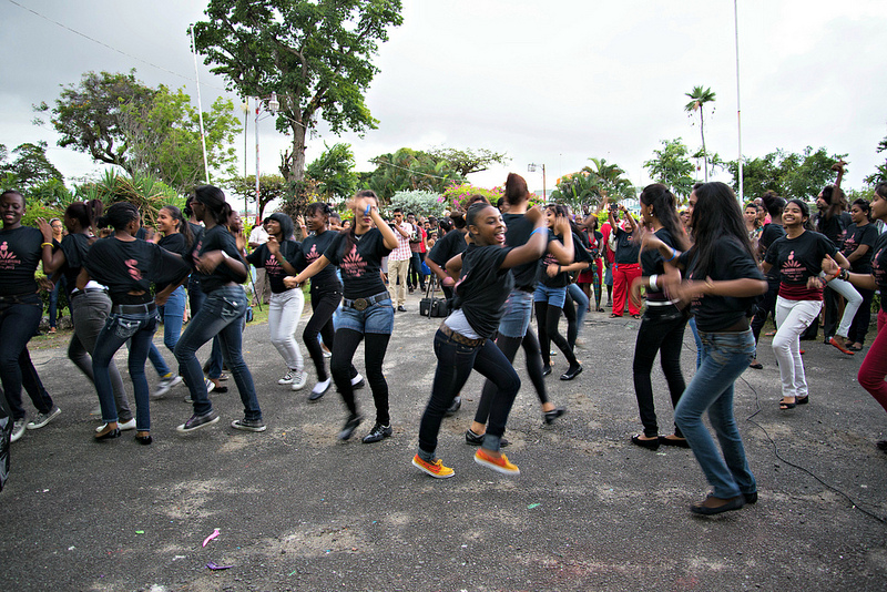 One Billion Rising, Promenade Gardens, Georgetown, Guyana