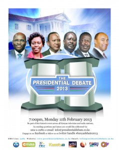 The Presidential Debate Poster