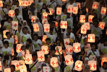 Groups like the Red Cross will be affected by Indonesia's new Bill on Mass Organizations. Photo by Jefri Tarigan, Copyright @Demotix (5/8/2012)