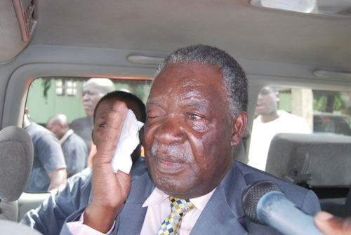 President Sata when he was an opposition leader