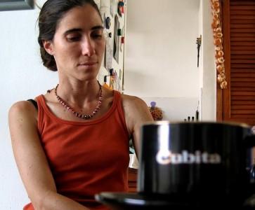 Blogger Yoani Sánchez. Photo by Andre Deak (CC-BY-2.0)