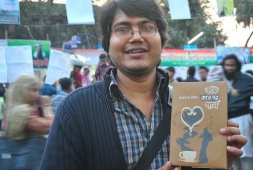 Blogger Asif Mohiuddin. Image by Siam Sarower Jamil. Copyright Demotix (10/2/2013)