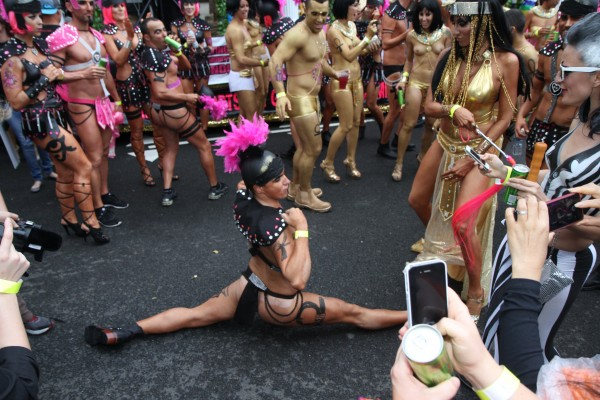 Sydney's gay and lesbian community celebrate Mardi Gras 2013