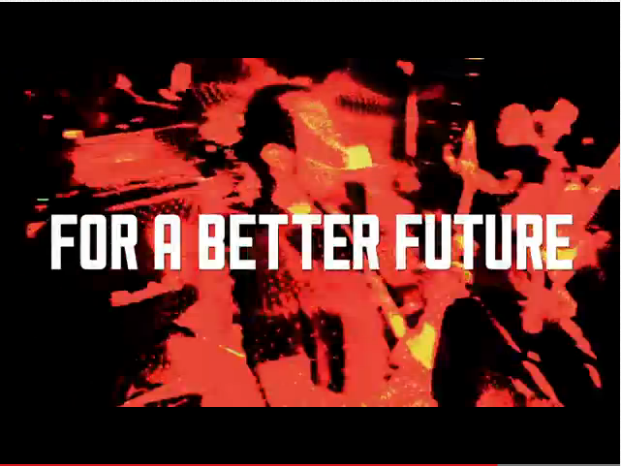 Music for a better future. Screenshot from Mideast Tunes' Indigeo campaign video.